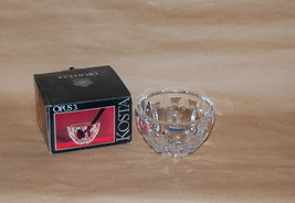 Kosta Boda Sweden Glass Opus 3  Bowl In Box Designed by Rolf Sinnemark - $35.00
