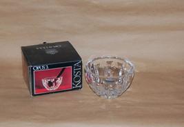 Kosta Boda Sweden Glass Opus 3  Bowl In Box Designed by Rolf Sinnemark - $35.00