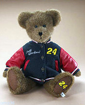 "Boyds Bears ""Jeff Gordon- #24""- 14"" Nascar Bear- Letterman Jacket-  #919246- NWT - $29.99"