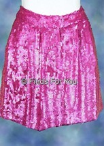 J Crew Collection Hot Pink Sequin Shorts Size 0 Gorgeous! - $154.67