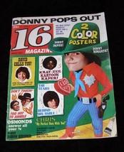 16 Magazine March 1972 Donny Osmond David Cassidy Sonny & Cher Butch Pat... - $14.99