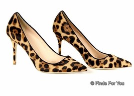 J Crew Collection Elsie Calf Hair Pumps Size 8 $358 Style A9600 - $232.02