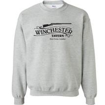 234 Winchester Tavern Crew Sweatshirt zombie funny movie hunter All Size... - $20.00