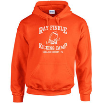 221 Ray Finkle Kicking Camp Hoodie funny movie 90s ace humor All Sizes/Colors - $30.00