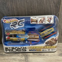 Hot Wheels RC Stealth Rides Gold Power Tread New - $32.95