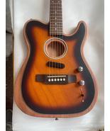 Rare Custom Shop Acoustasonic Tele Sonic Sunburst Acoustic Electric Guit... - $829.34+