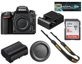 Sale Nikon D750 24.3 Mp Digital Slr Camera Body Retail Box + Free 8GB Me... - $1,095.58