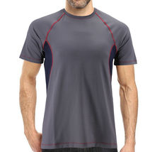 Men's Cool Quick-Dry Gym Workout Sport Running Breathable Performance T-shirt image 13