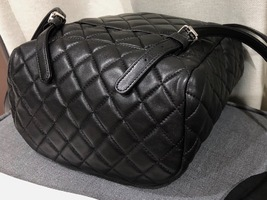 100% AUTHENTIC CHANEL 2017 BLACK QUILTED LAMBSKIN URBAN SPIRIT BACKPACK SHW image 5