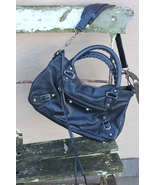 Balenciaga Jet Black First with Pewter from f/w 2003. - $1,100.00