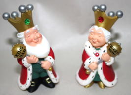 Mom & Dad - King & Queen Hallmark Christmas Ornaments 2000 - $9.95