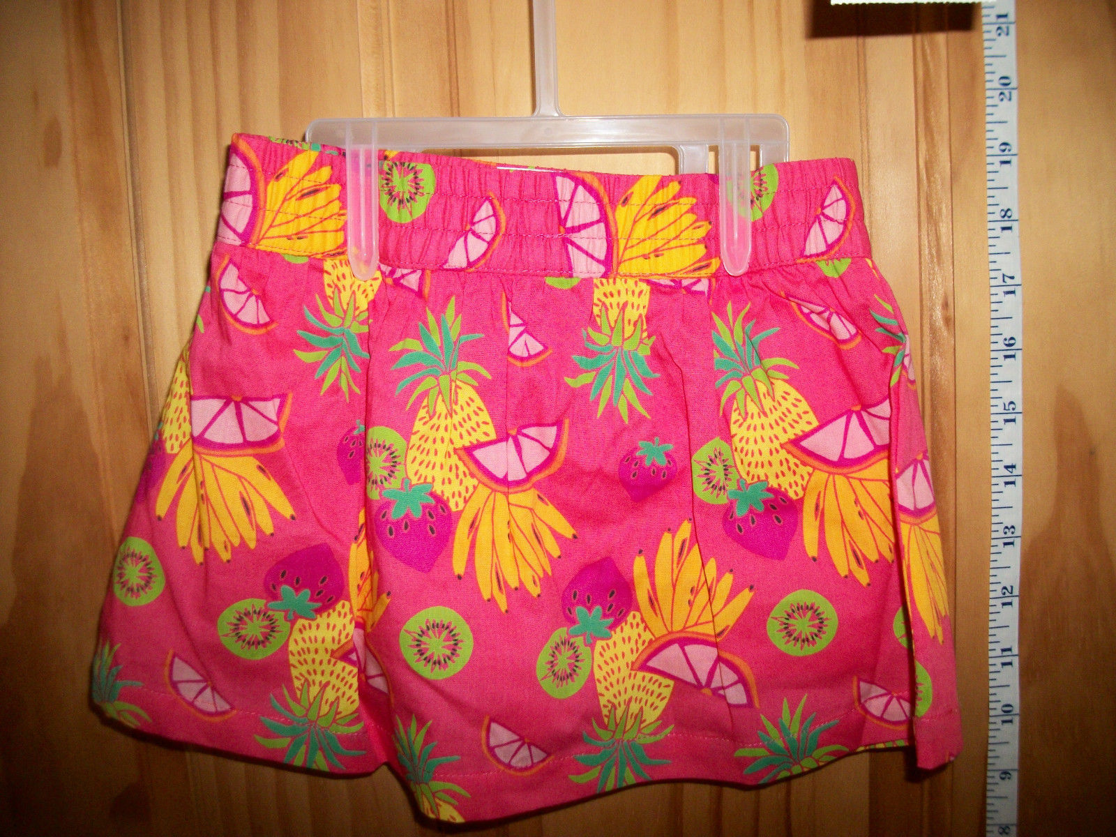 Fashion Gift Healthtex Baby Clothes 24M Girl Skort Outfit Pink Tropical Top Set