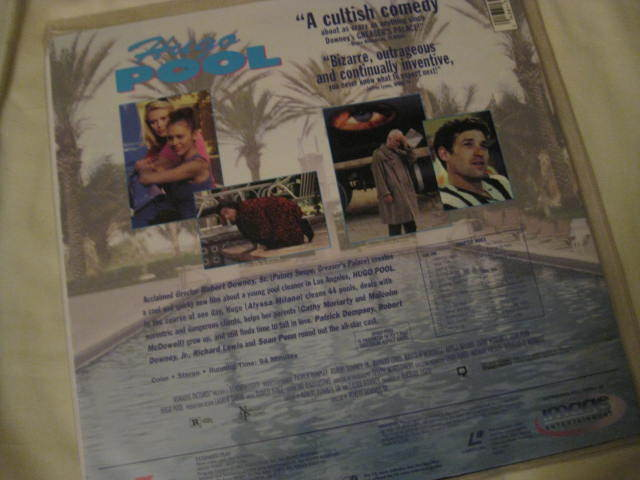 LaserDisc - HUGO POOL