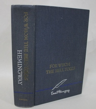 For Whom The Bell Tolls - Ernest Hemingway 1968 Blue Hardcover - $12.95