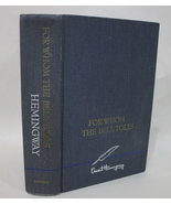 For Whom The Bell Tolls - Ernest Hemingway 1968 Blue Hardcover - $16.95