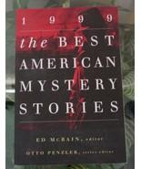 1999 BEST AMERICAN MYSTERY Stories Lawrence Block-Ed McBain-John Updike-... - $6.00