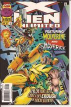 Marvel X-Men Unlimited #15 Wolverine Maverick Mutant Monsters Action Adv... - $2.95