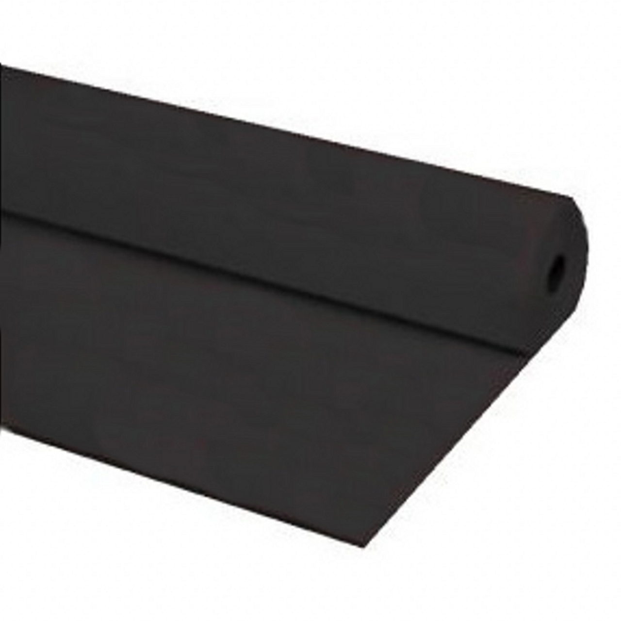 "40""x100 ft BLACK Heavy Duty Banquet Roll Plastic Table Cloth"