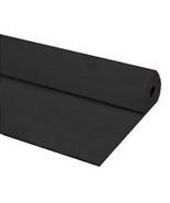 "40""x100 ft BLACK Heavy Duty Banquet Roll Plastic Table Cloth - $15.99"