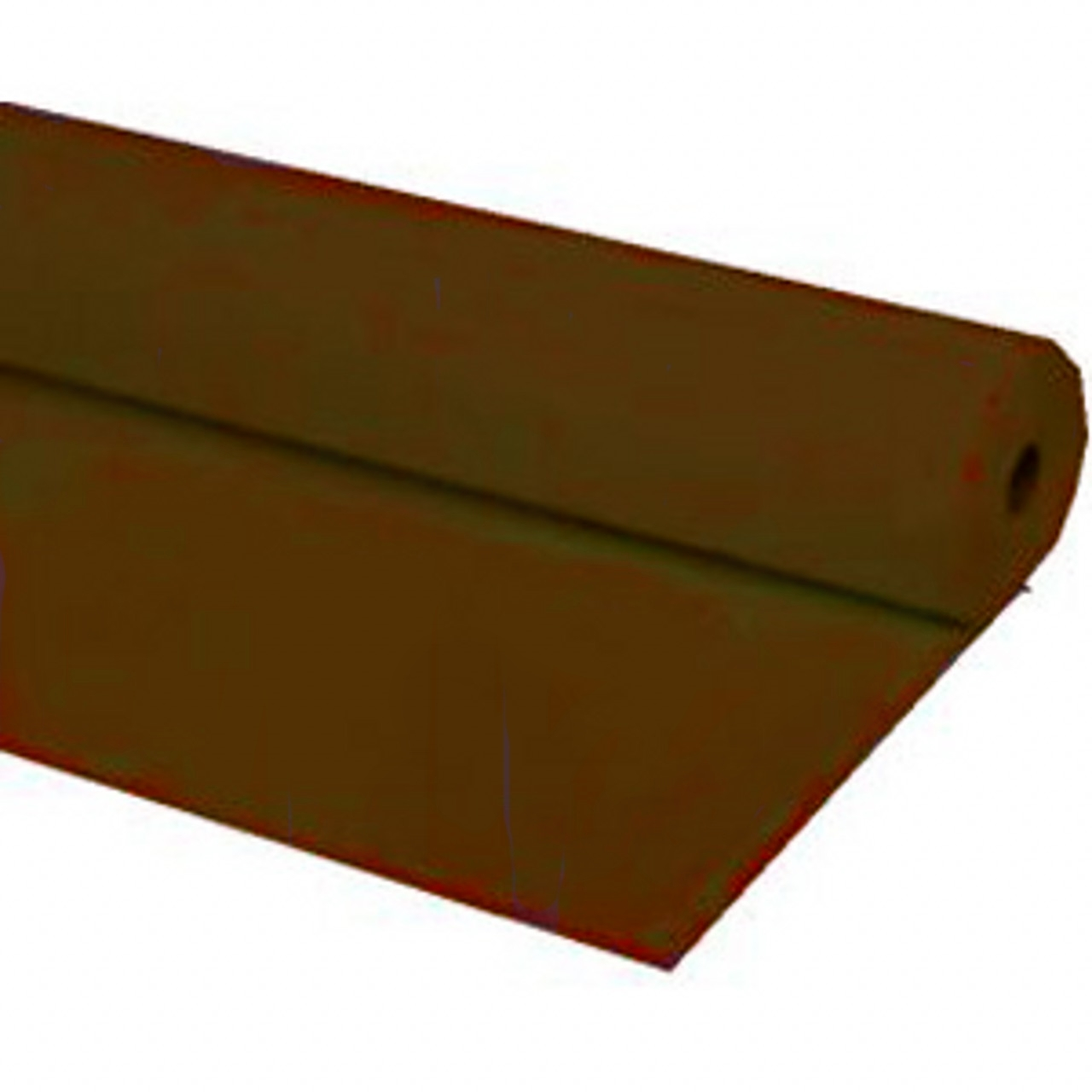 "40""x100 ft BROWN Heavy Duty Banquet Roll Plastic Table Cloth"