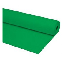 "40""x100 ft GREEN Heavy Duty Banquet Roll Plastic Table Cloth - $15.99"