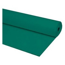 "40""x100 ft HUNTER GREEN Heavy Duty Banquet Roll Plastic Table Cloth - $15.99"