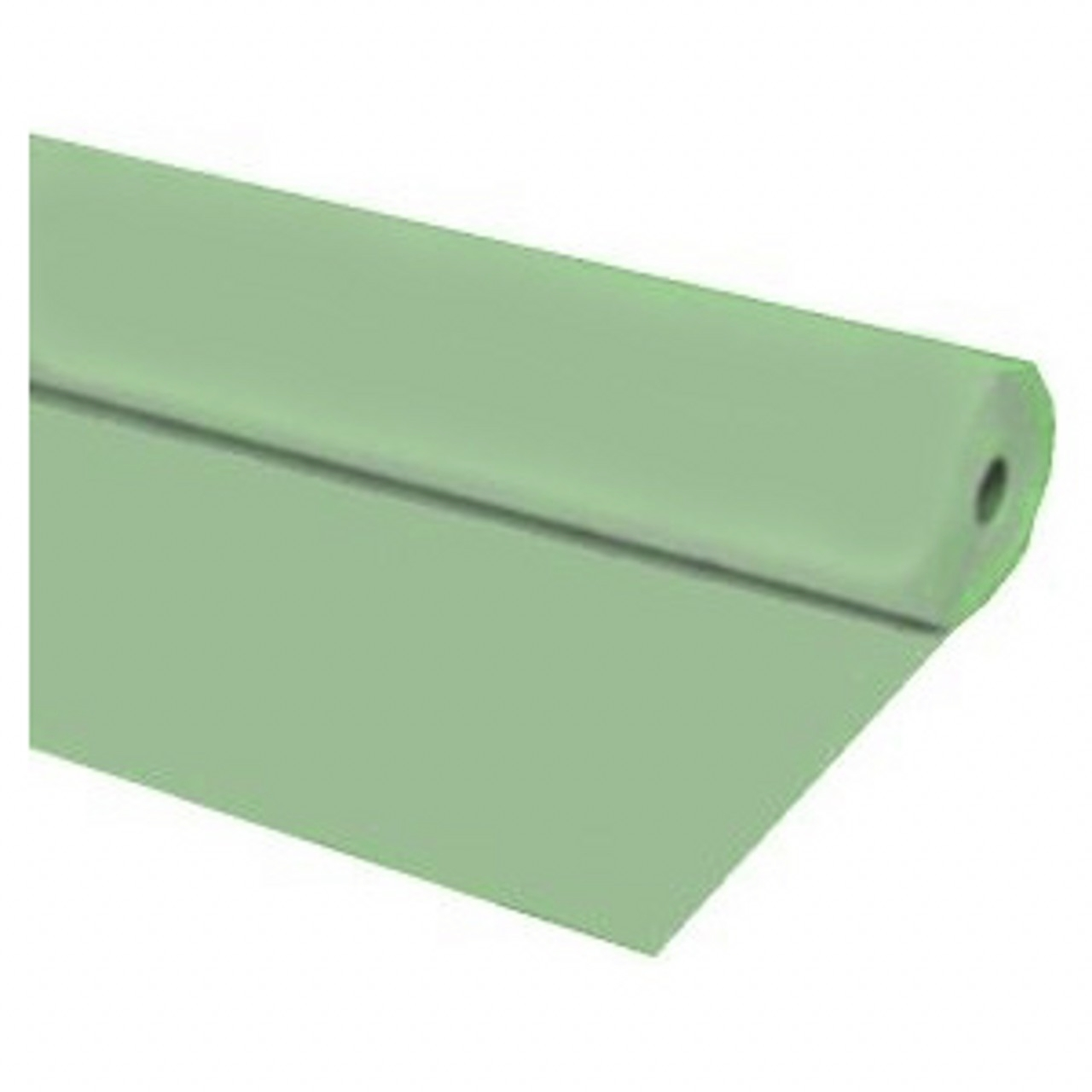 "40""x100 ft MINT GREEN Heavy Duty Banquet Roll Plastic Table Cloth"