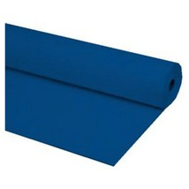"40""x100 ft NAVY BLUE Heavy Duty Banquet Roll Plastic Table Cloth - $15.99"