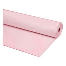 """40""""x100 ft PINK Heavy Duty Banquet Roll Plastic Table Cloth - $15.99"""
