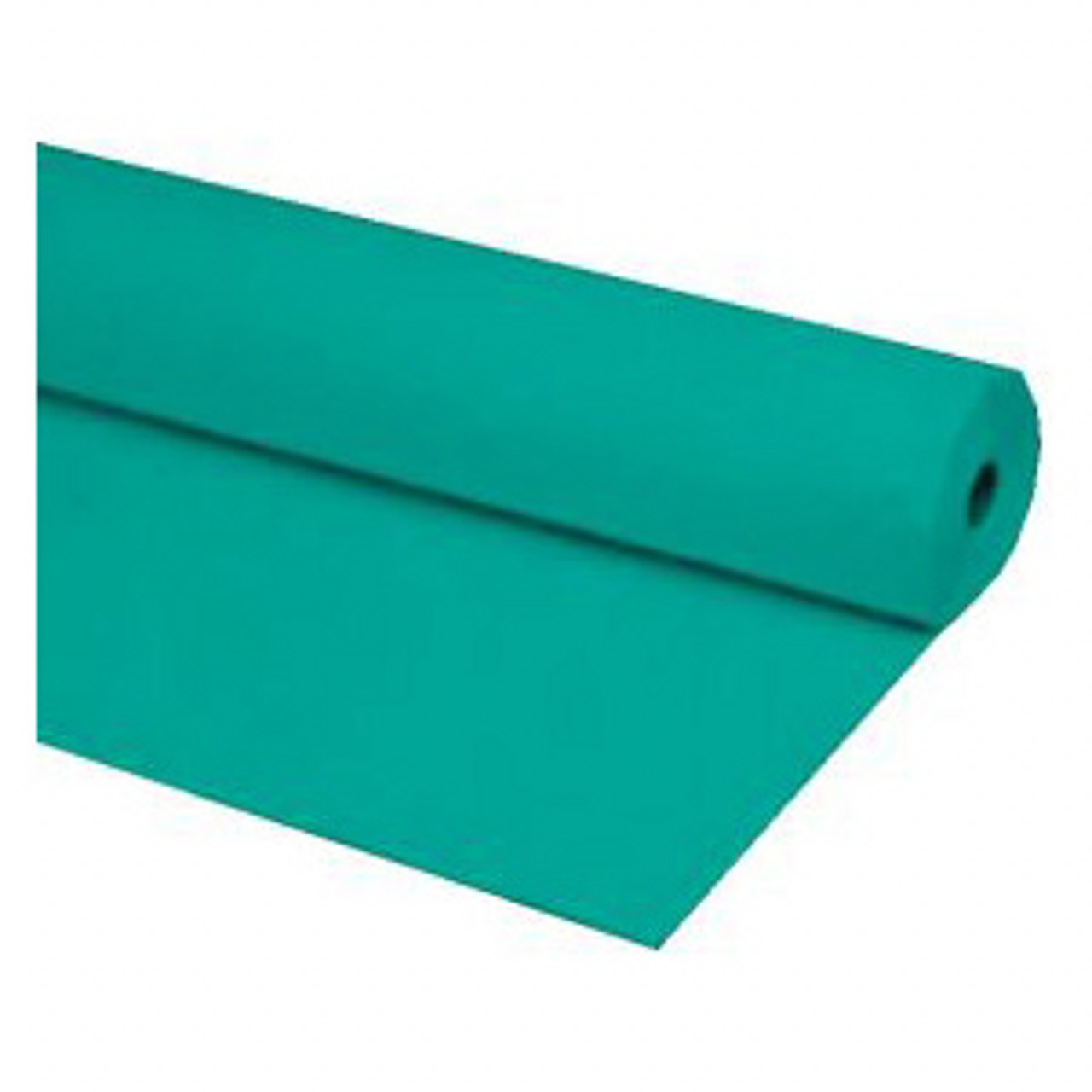 "40""x100 ft TEAL Heavy Duty Banquet Roll Plastic Table Cloth"