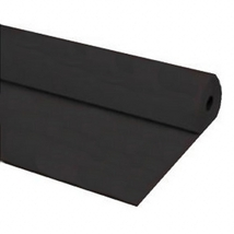 "40""x300 ft BLACK Economy Banquet Roll Plastic Table Cloth - $29.95"