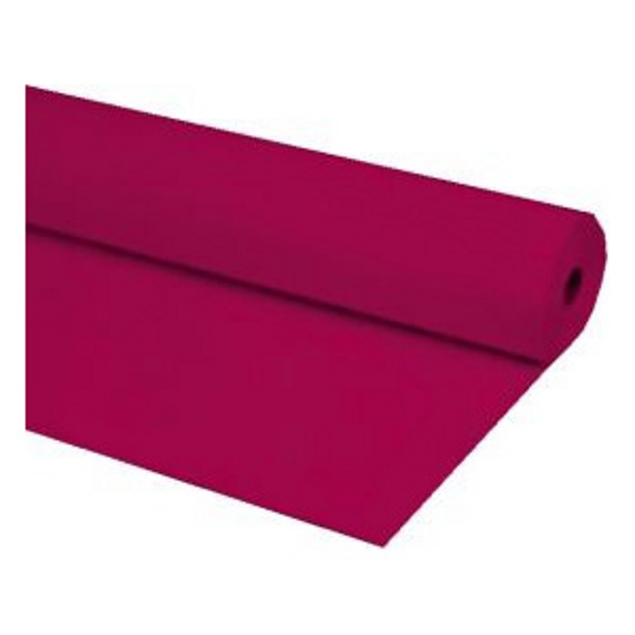 "40""x300 ft BURGUNDY Economy Banquet Roll Plastic Table Cloth"