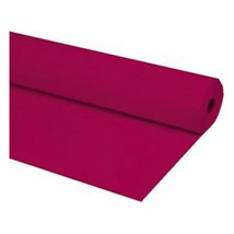 "40""x300 ft BURGUNDY Economy Banquet Roll Plastic Table Cloth - £23.16 GBP"