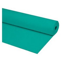 "40""x300 ft TEAL Economy Banquet Roll Plastic Table Cloth - £23.16 GBP"