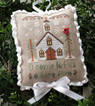 Let Us Adore Him #6 Classic Ornament Series cross stitch Country Cottage... - $5.40