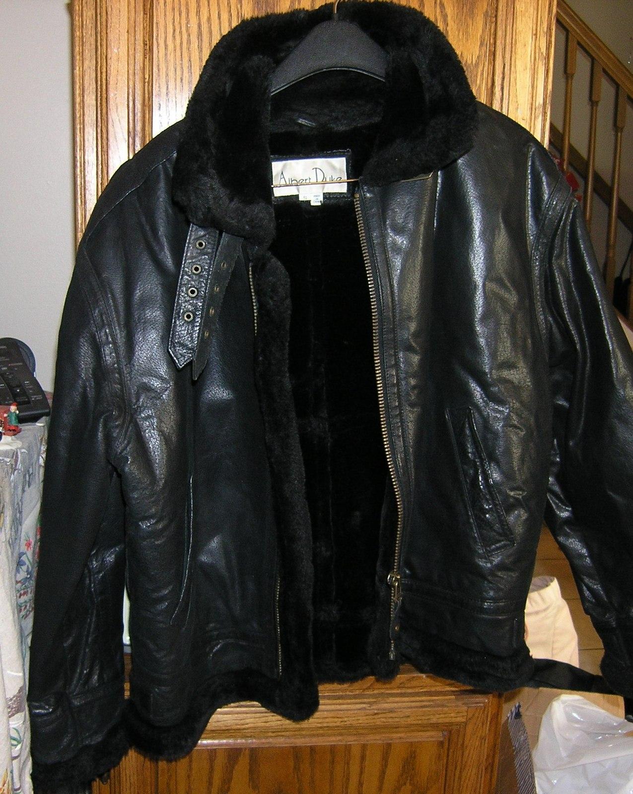 Duke leather jacket
