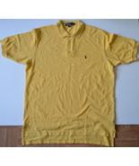 L543 Men's Polo shirt RALPH LAUREN Size XL Yellow - $7.95