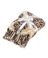 BAROQUE Tassel Throw Blanket 52 by 58 - $16.95