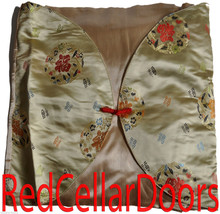 New Asian Envelope Style Toss Cushion Cover Yel... - $12.99