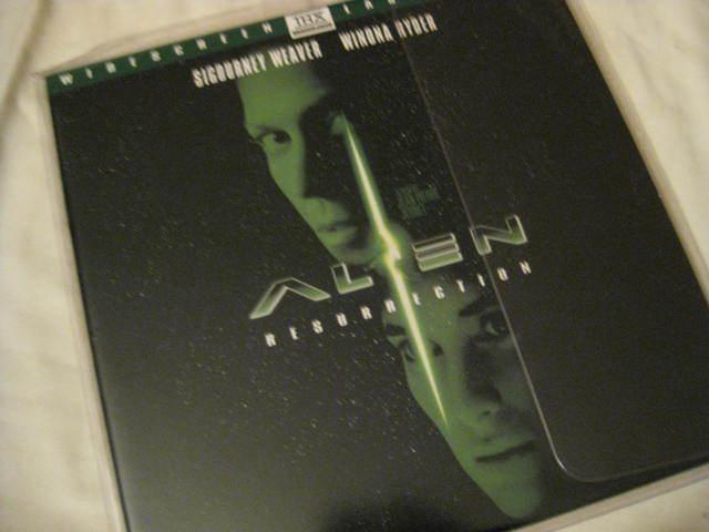 LaserDisc - ALIEN RESURRECTION