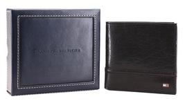 Tommy Hilfiger Men's Leather Wallet Hipster & Valet Billfold Rfid 31TL120002 image 9
