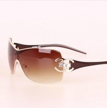 Italy Oversized Sunglasses Women Diamond Big Frame Sun Glasses For Womens - $29.79
