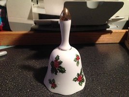 Lefton Holly China Bell 7944 Hand Painted [Kitchen] - $39.99