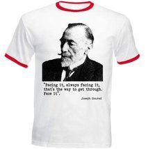 Conrad Joseph - Red Ringer T-Shirt M [Apparel] - $22.49