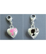 Tag dangle pendant LOVE Clip On Charm fits Link Chain Floating Locket C142