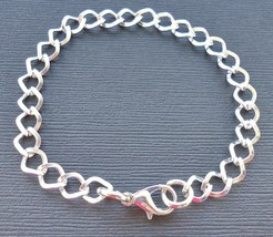 Kid's Children Link Chain Bracelet 7mm w/Lobster Claw Fit for Clip ON Ch... - $2.50
