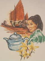 Lenier's Sencha Mango/Mango Flavored Green Leaf Tea  4oz FREE SHIPPING - $8.79