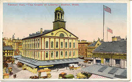 The Cradle of Liberty Boston Massachusetts circa 1907 Post Card - $6.00