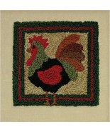 Rooster Punchneedle kit Rachel's of Greenfield - $13.50