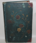 Uncle Tom's Cabin Vintage Hardback Green Book w/ Roses on Cover - missin... - $8.50